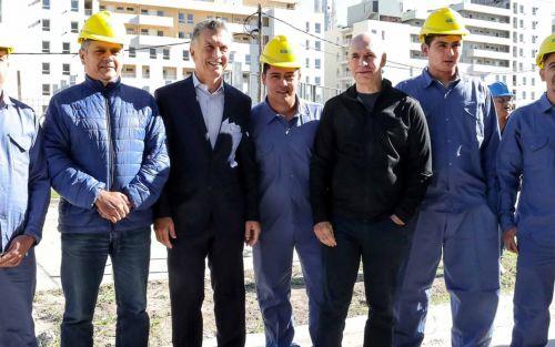 El obrero que increpó a Macri no fue suspendido y evalúan una visita a la Casa Rosada