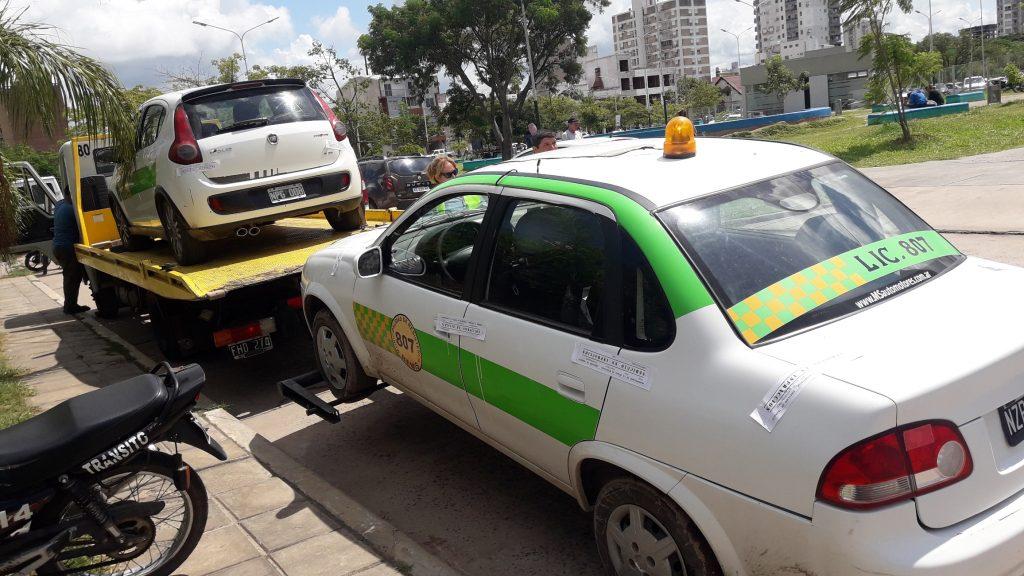 Control de tránsito: 9 autos y 5 motos fueron derivadas al corralón municipal