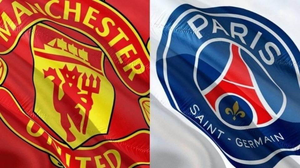 Manchester United y Paris Saint Germain chocan por la UEFA Champions League