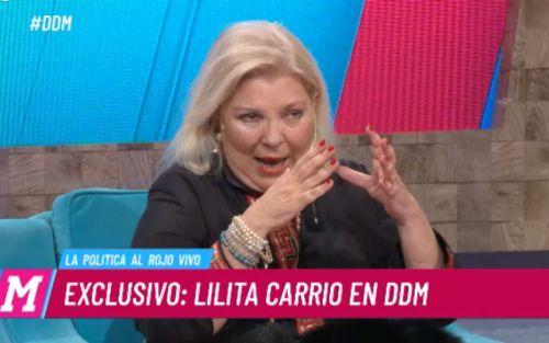 """Elisa Carrió: """"Alberto es un hombre muy peligroso y Cristina, el caos"""""""