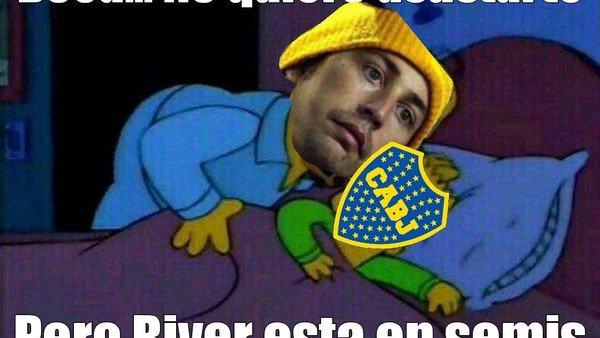 River llegó a semifinales y los memes ya palpitan el superclásico ante Boca