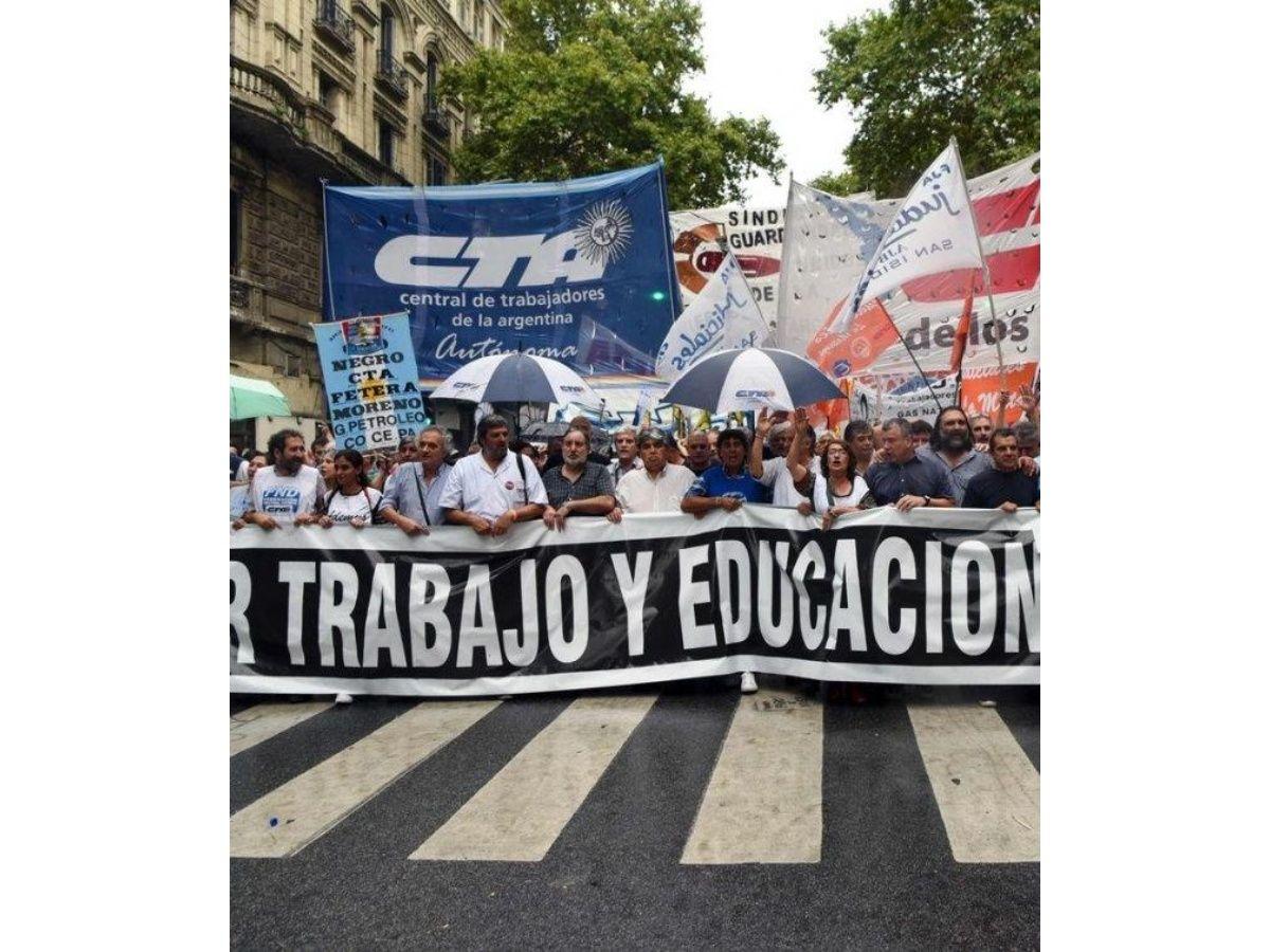 Las CTA rechazaron el nuevo mínimo y la Autónoma preparaparos