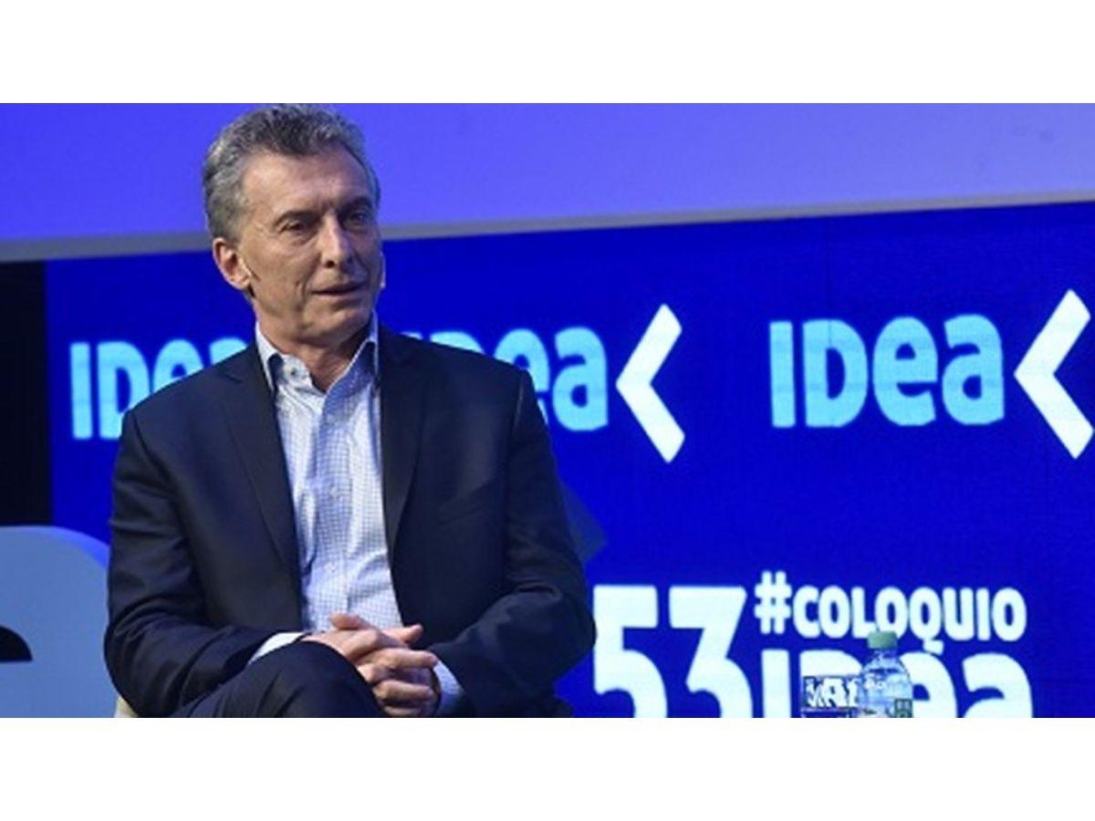 IDEA llamó a un acuerdo entre Macri y Alberto Fernández