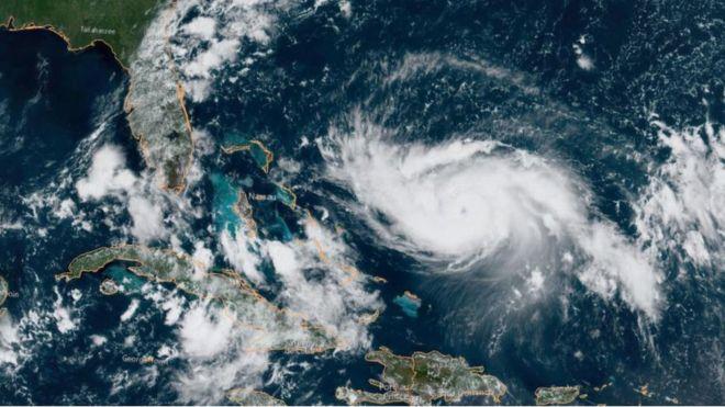 El huracán Dorian subió a categoría 4 y si sigue su rumbo rozaría Florida