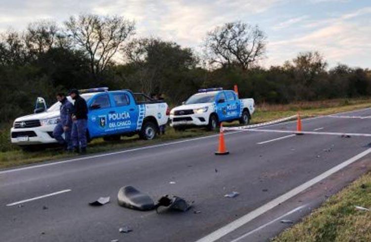 Murió un motociclista tras chocar con un auto