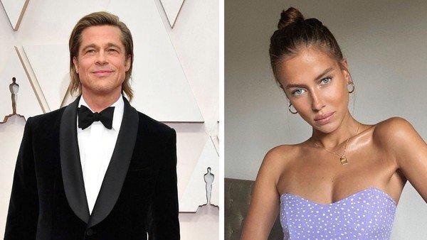 Brad Pitt: el cariñoso y sugerente mensaje de amor de su novia a la distancia