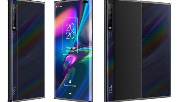 TCL desarrolla dos nuevos prototipos de su celular con pantalla enrollable