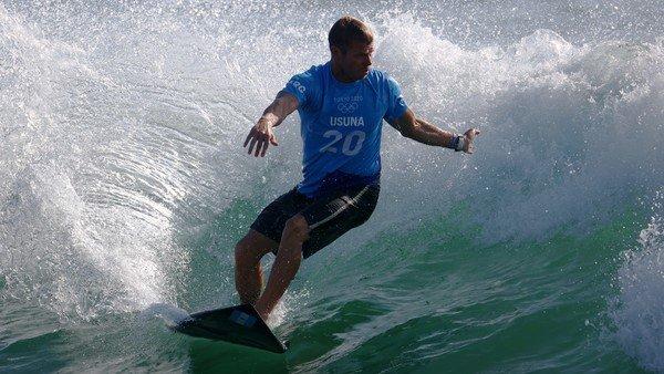 tokio-2020:-leandro-usuna-hizo-historia-en-el-debut-del-surf-en-los-juegos-olimpicos